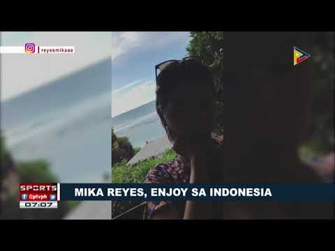SPORTS BALITA | Mika Reyes, enjoy sa Indonesia