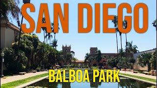 BU PARKTA HER ŞEY VAR! BALBOA PARK ve İspanyol Köyü | SAN DIEGO - 5. Bölüm | Gezi Günlükleri 6