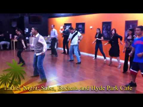 Thursday is Ladies Night at Island Touch: Bachata and Salsa