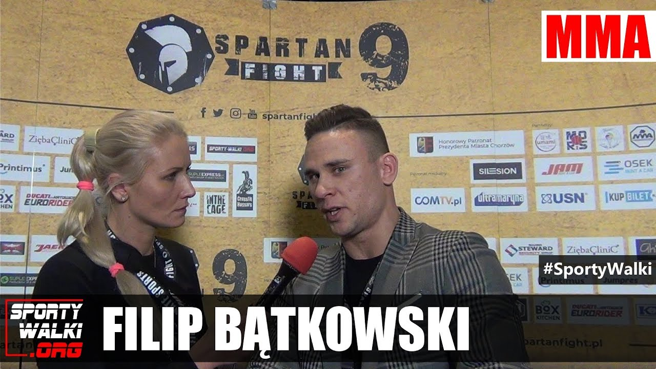 Filip Bątkowski po gali Spartan Fight 9