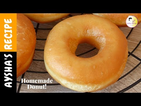 সহজ ডোনাট রেসিপি | Easy Donuts Recipe Bangla | Perfect Sugar Doughnut Recipe, Homemade Donut