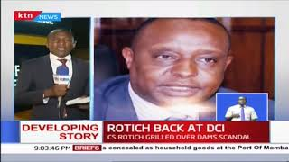 National Treasury CS Rotich back at  DCI headquarters for the third time this week