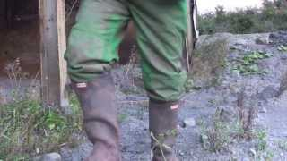changing in2 john deere ovies and hunter wellies, special request
