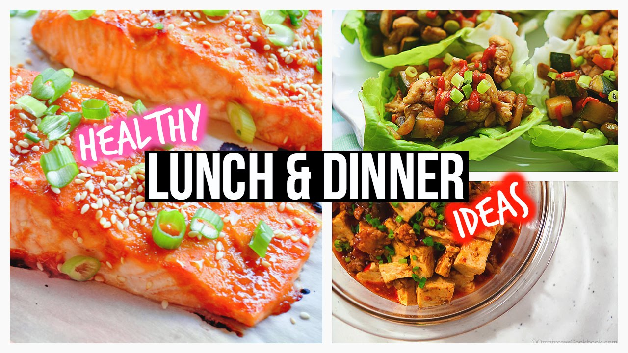 healthy lunch ideas dinner for school youtube