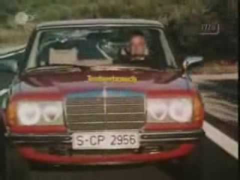 Mercedes-Benz W123 300D Autotest (part 2)