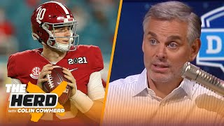 49ers drafting Mac Jones is Trubisky with Bears, talks Dallas & Kyle Pitts - Colin | NFL | THE HERD