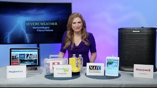 CHERYL NELSON, METEOROLOGIST & TV HOST, HELPS PREPARE FOR SEVERE WEATHER EVENTS