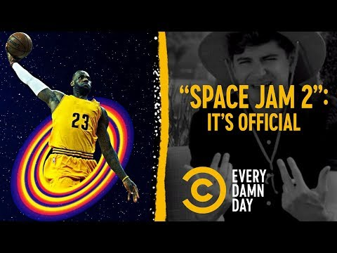 "Freak Out Accordingly: LeBron Is Starring in ""Space Jam 2"""