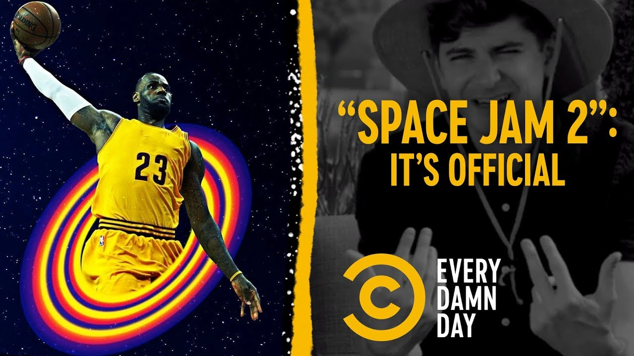 """Freak Out Accordingly: LeBron Is Starring in """"Space Jam 2"""""""