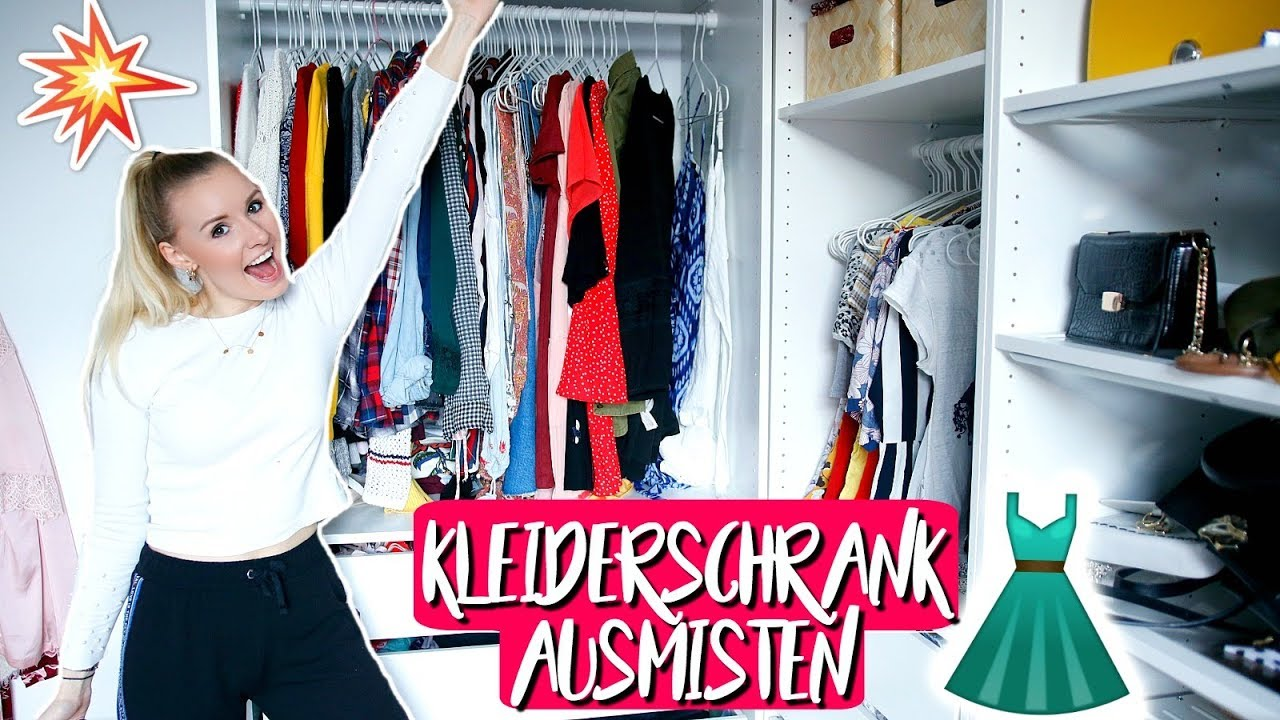 endlich ordnung xxl kleiderschrank ausmisten tipps zur ordnung i giulia groth youtube. Black Bedroom Furniture Sets. Home Design Ideas
