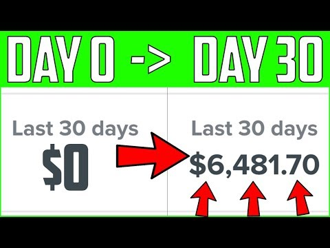 How To Make $6,481 With Affiliate Marketing In 30 Days - Make Money With Affiliate Marketing (2019) thumbnail