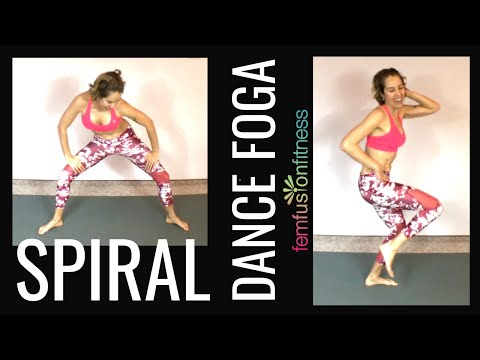 Spiral Dance FOGA | Fun, Low-Impact Cardio Dance Fitness + Yoga (with Hip Circles!)