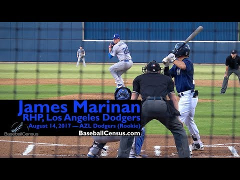 James Marinan, RHP, Los Angeles Dodgers — August 14, 2017