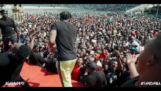 Diamond Platnumz  ON JAMAFEST PART 3 ( UHURU STADIUM - TANZANIA)