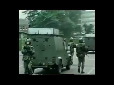 2nd Queens deal with rioting in West Belfast 1988.wmv