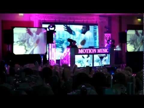 Motion Music - Example of Video and Audio Display