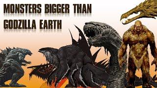 15 Monsters Bigger Than Godzilla Earth