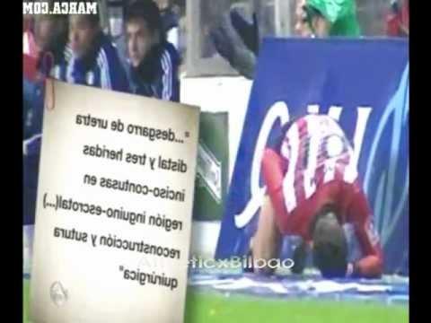 Aupa Tus Huevos De Marcos Vs Paredes Zaragoza ( Jugo 1 hora con desgarro de Uretra distal ) Athletic