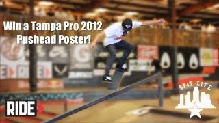 Win a Tampa Pro 2012 Pushead Poster: SPoT Life Event Check
