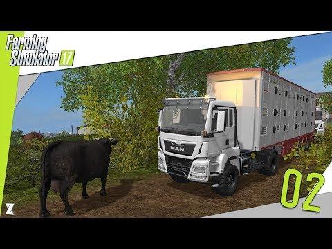 🚜 Farming Simulator 17 | LBDM #2 Transport des vaches (en entier c'est mieux) [Multi]