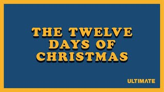 The Twelve Days Of Christmas - Animation