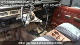 1979 International Scout  for sale in , NC 27603 at Classica #VNclassics