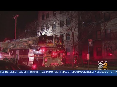 Fire Overnight In Far Rockaway