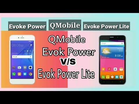 Qmobile Evok Power vs Evok Power Lite comparison
