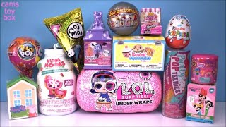 Surprise Toys NUM NOMS Peppa Pig LOL Under Wraps DOLL Pikmi POPS MOJ MOJ Vampirina