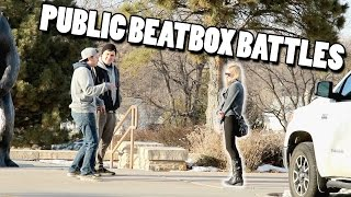 PUBLIC BEATBOX BATTLES (ft Mr. Wobbles)
