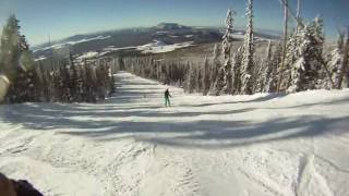 Snowboarding Skiing Snow Bowl Flagstaff Arizona Go Pro Hero HD Camera Cam