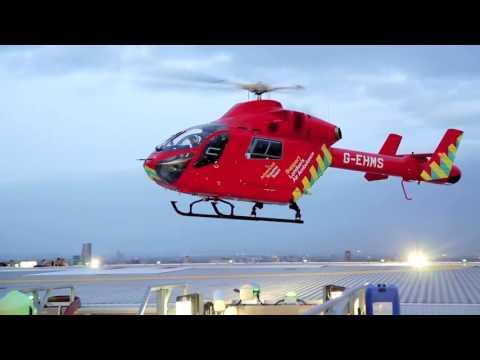 London's Air Ambulance Helipad Abseil 2017
