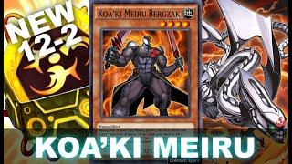 NEW KOAKI MEIRU SUPPORT! ANTI META 12-2 W/L! (New Box Infernity Destruction Yu-Gi-Oh! Duel Links)