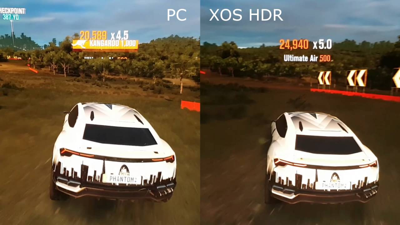 samsung ks9000 forza horizon 3 pc vs xbox one s hdr same settings youtube. Black Bedroom Furniture Sets. Home Design Ideas