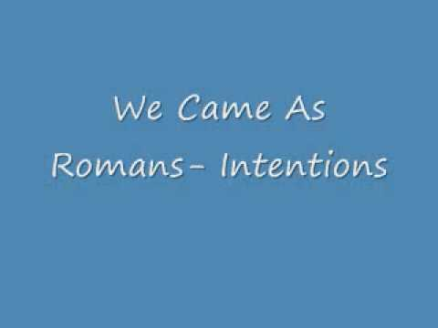Song Of The Day: We Came As Romans- Intentions
