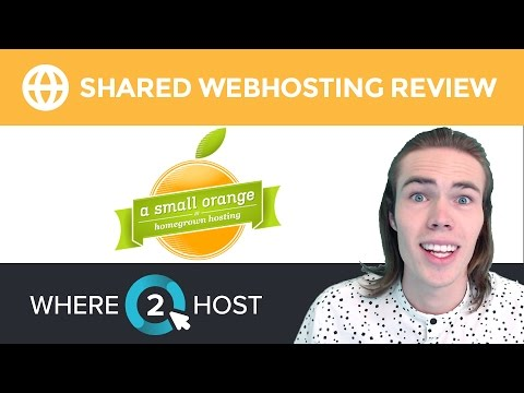 ASmallOrange Shared Web Hosting Review 2017