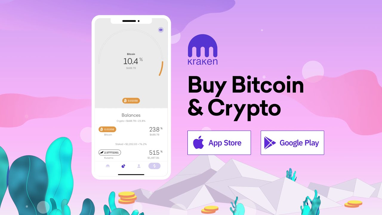 kraken bitcoin app