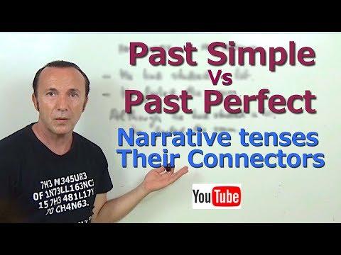 Past Simple Vs Past Perfect: Narrative Tenses & Connectors