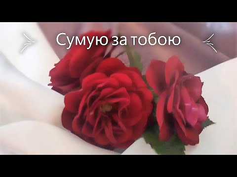 Сумую за тобою Для тебе ці квіти  I Miss You For You These Flowers