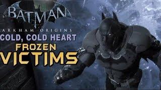 Batman Arkham Origins - Cold Cold Heart DLC Free Roaming & Ice Vicitms