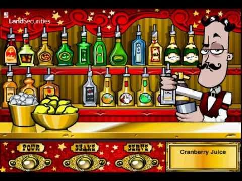 Getränkemixer Spiel