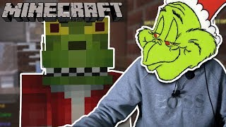 I AM THE GRINCH & I WILL STEAL YOUR PRESENTS!!! Minecraft
