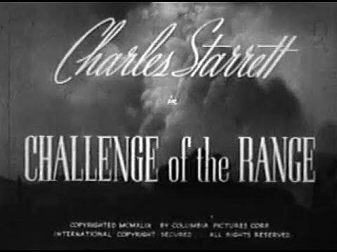 The Durango Kid - Challenge Of The Range - Charles Starrett, Smiley Burnette