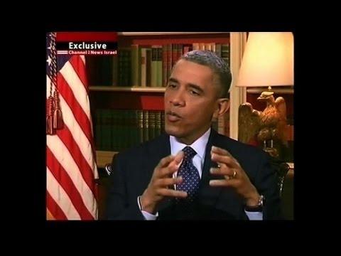 Obama Expose Les Buts De Sa Visite En Israël
