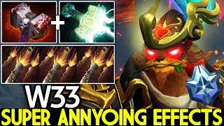 W33 [Pangolier] Super Annyoing Effects Aggressive Play 7.24 Dota 2