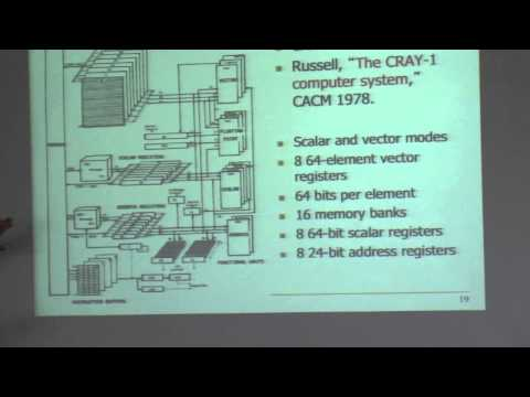 Lecture 16. SIMD Processing (Vector Processors) - CMU - Computer Architecture 2014 - Onur Mutlu
