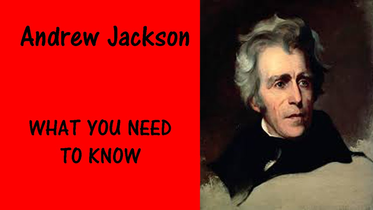 Andrew Jackson 1767-1845 A brief biography
