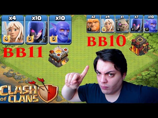 COC!! Yeni Taktik BB11 BB10 Clash of Clans
