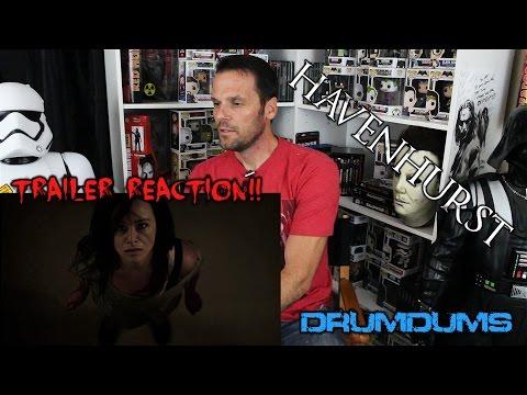 Drumdums HAVENHURST  2 Reaction Danielle Harris Horror!!