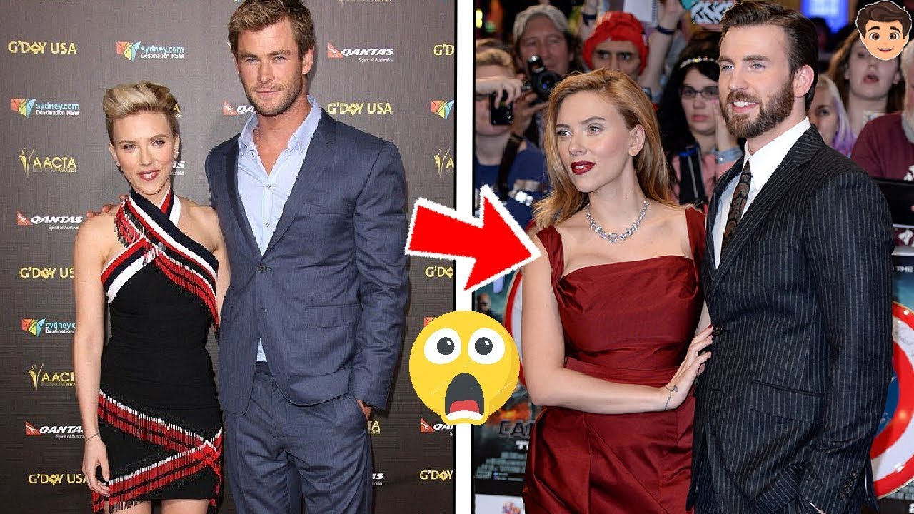 Los 8 Novios De Scarlett Johansson Por Eso Es Tan Feliz Youtube